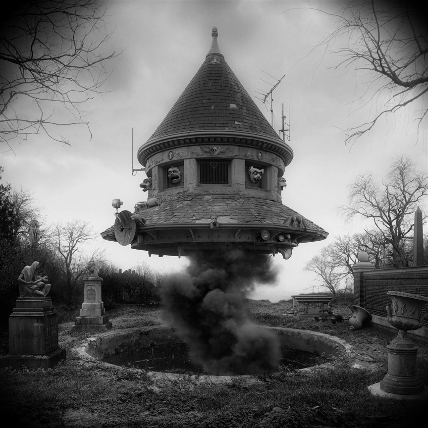 untitled (ufo) by Jim Kazanjian