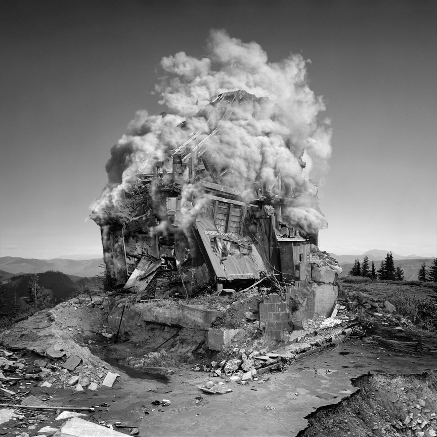 untitled (implosion) by Jim Kazanjian